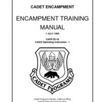 Encampment Training Manual - 1 July 1999