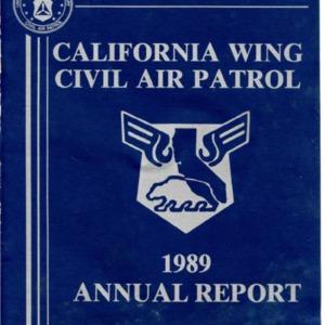 1989 Annual Report - California Wing
