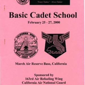 Basic Cadet School - February 2000