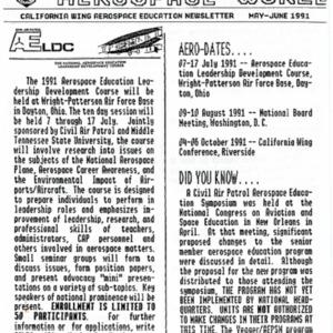 Aerospace World - May-June 1991