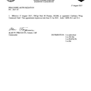 PA 2017-19 - Command Chief - CMSgt Furniss.pdf