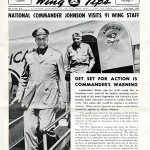 California Wing Tips - August-September 1942