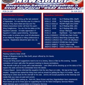 Alert 5 Newsletter - 26 Jun 2012